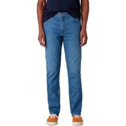 Odjeća Muškarci  Traperice ravnog kroja Wrangler W15QQ1158 Plava