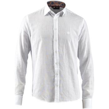 Odjeća Muškarci  Košulje dugih rukava Lumberjack CM80846 001 603 Bijela