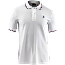 Odjeća Muškarci  Polo majice kratkih rukava Lumberjack CM45940 009 506 Bijela