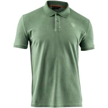 Odjeća Muškarci  Polo majice kratkih rukava Lumberjack CM45940 007 516 Zelena