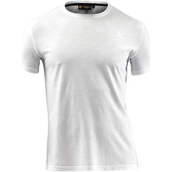 Odjeća Muškarci  Majice kratkih rukava Lumberjack CM60343 004 517 Bijela