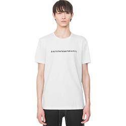 Odjeća Muškarci  Majice kratkih rukava Antony Morato MMKS01754 FA100144 Bijela