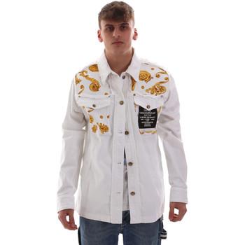 Odjeća Muškarci  Jakne Versace C1GVB92GHRC33003 Bijela