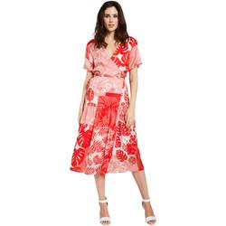 Odjeća Žene  Kratke haljine Gaudi 011FD15014 Crvena