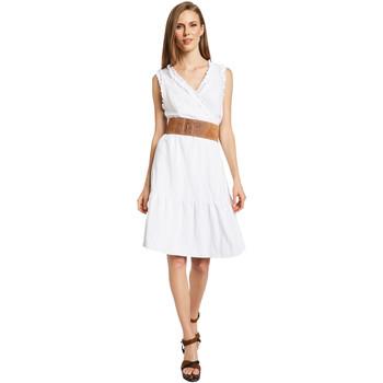 Odjeća Žene  Kratke haljine Gaudi 011BD15037 Bijela