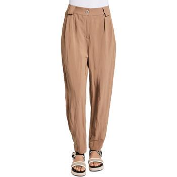 Odjeća Žene  Chino hlačei hlače mrkva kroja Gaudi 011BD25052 Smeđa