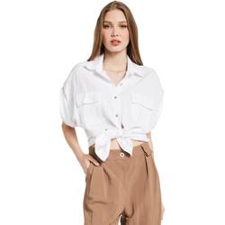 Odjeća Žene  Košulje i bluze Gaudi 011BD45030 Bijela
