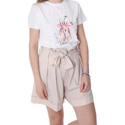 Odjeća Žene  Bermude i kratke hlače Fracomina FR20SP150 Bež