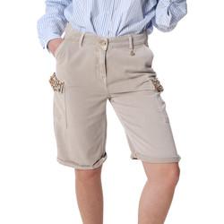Odjeća Žene  Bermude i kratke hlače Fracomina FR20SP116 Bež