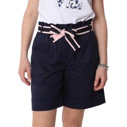 Odjeća Žene  Bermude i kratke hlače Fracomina FR20SP606 Plava