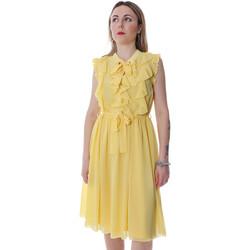Odjeća Žene  Kratke haljine Fracomina FR20SP536 Žuta boja