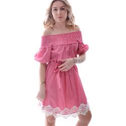 Odjeća Žene  Kratke haljine Fracomina FR20SP526 Crvena