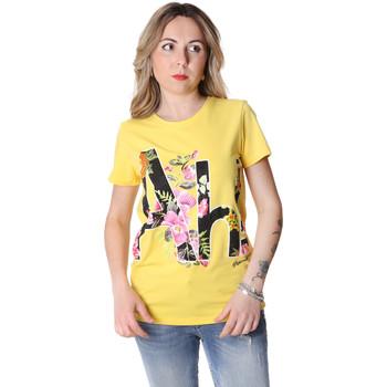 Odjeća Žene  Majice kratkih rukava Fracomina FR20SP368 Žuta boja