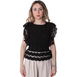 Odjeća Žene  Topovi i bluze Fracomina FR20SP586 Crno