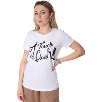 Odjeća Žene  Majice kratkih rukava Fracomina FR20SP306 Bijela