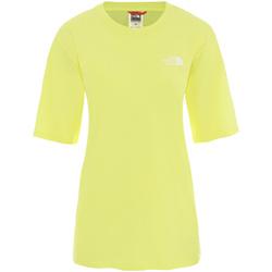 Odjeća Žene  Majice kratkih rukava The North Face NF0A4CESVC51 Žuta boja
