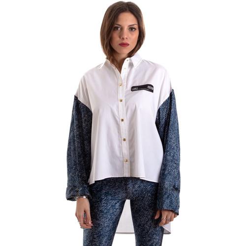 Odjeća Žene  Košulje i bluze Versace B0HVB606S0683904 Bijela