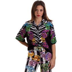 Odjeća Žene  Košulje i bluze Versace B0HVB604S0793983 Crno