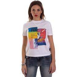 Odjeća Žene  Majice kratkih rukava Versace B2HVB7V630331003 Bijela