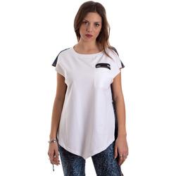 Odjeća Žene  Majice kratkih rukava Versace D3HVB657S0683904 Bijela