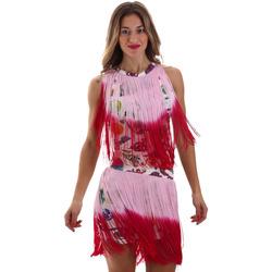 Odjeća Žene  Kratke haljine Versace D2HVB406S0777K67 Bijela