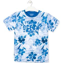 Odjeća Dječak  Majice kratkih rukava Losan 013-1003AL Plava