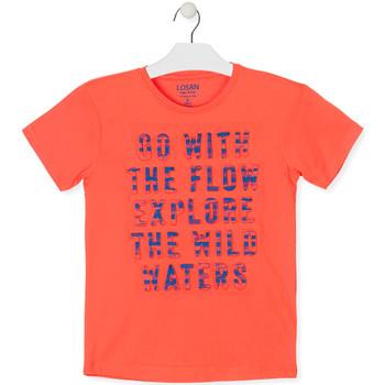 Odjeća Dječak  Majice kratkih rukava Losan 013-1005AL Naranča