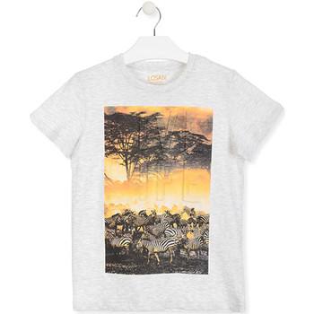 Odjeća Djeca Majice kratkih rukava Losan 013-1017AL Bijela