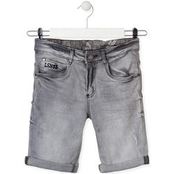 Odjeća Djeca Bermude i kratke hlače Losan 013-9002AL Siva