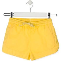 Odjeća Djeca Bermude i kratke hlače Losan 014-9007AL Žuta boja