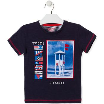 Odjeća Djeca Majice kratkih rukava Losan 015-1001AL Plava