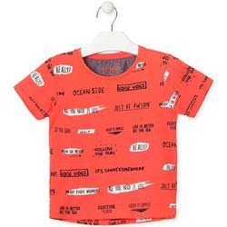 Odjeća Djeca Majice kratkih rukava Losan 015-1003AL Naranča