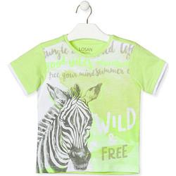 Odjeća Djeca Majice kratkih rukava Losan 015-1011AL Zelena