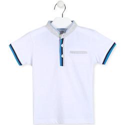 Odjeća Dječak  Polo majice kratkih rukava Losan 015-1791AL Bijela