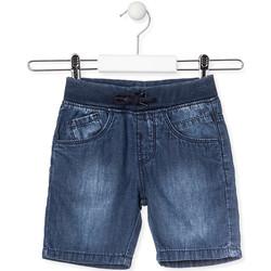 Odjeća Djeca Bermude i kratke hlače Losan 015-9659AL Plava