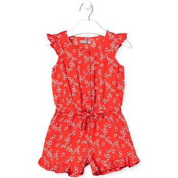 Odjeća Djevojčica Kombinezoni i tregerice Losan 016-7029AL Crvena