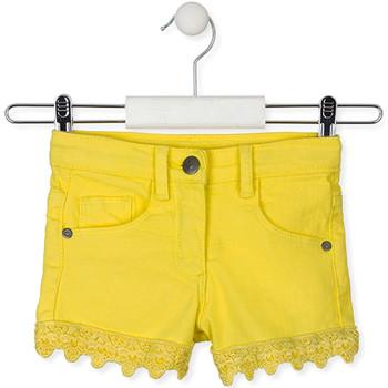 Odjeća Djeca Bermude i kratke hlače Losan 016-9001AL Žuta boja