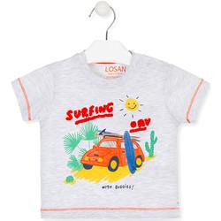 Odjeća Djeca Majice kratkih rukava Losan 017-1015AL Siva