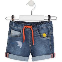 Odjeća Djeca Bermude i kratke hlače Losan 017-6017AL Plava