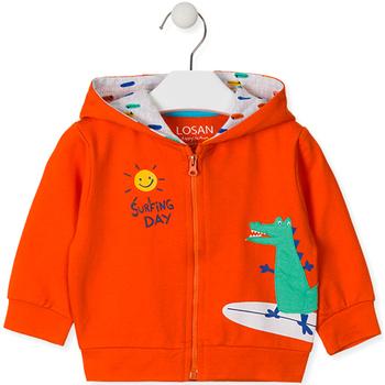 Odjeća Djeca Sportske majice Losan 017-6026AL Naranča