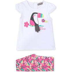 Odjeća Djeca Odijela i kravate Losan 018-8006AL Bijela