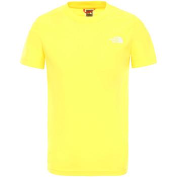 Odjeća Djeca Majice kratkih rukava The North Face NF0A2WANDW91 Žuta boja