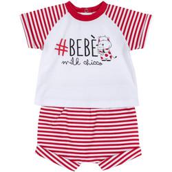 Odjeća Dječak  Dječji kompleti Chicco 09076364000000 Bijela