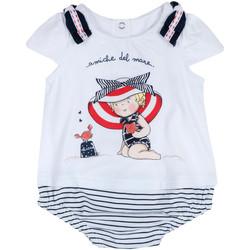 Odjeća Djevojčica Kombinezoni i tregerice Chicco 09050711000000 Bijela