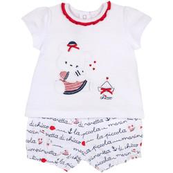 Odjeća Djevojčica Dječji kompleti Chicco 09076458000000 Bijela