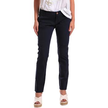 Odjeća Žene  Chino hlačei hlače mrkva kroja Gaudi 811BD25009 Plava