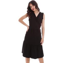 Odjeća Žene  Kratke haljine Gaudi 011BD15037 Crno