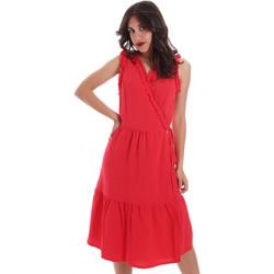 Odjeća Žene  Kratke haljine Gaudi 011BD15037 Crvena
