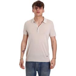Odjeća Muškarci  Polo majice kratkih rukava Gaudi 011BU53011 Bež