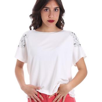 Odjeća Žene  Majice kratkih rukava Gaudi 011FD64022 Bijela